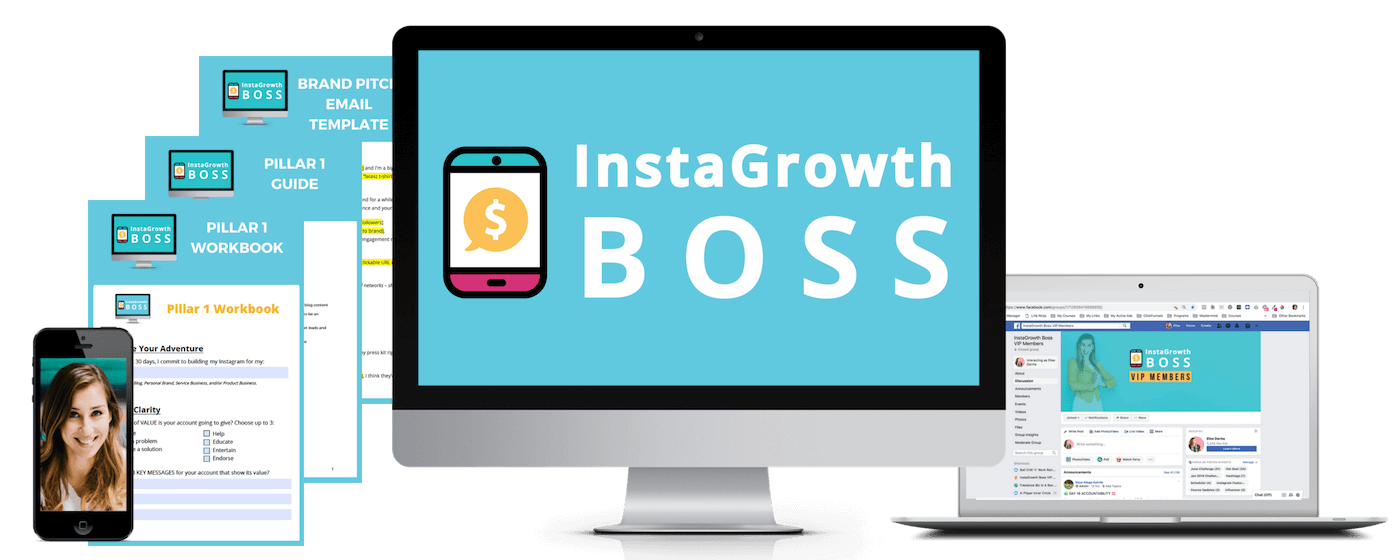 InstaGrowth Boss - Instagram Growth + Monetization Course by